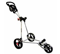 Eze Glide 3-Wheel Golf Trolley (Silver)