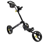 iCart Two - 3 Wheel Two Click Trolley (Black)
