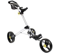 iCart Two Click 3-Wheel Trolley (Silver)