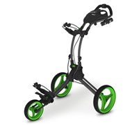 Rovic RV1C Trolley Cart By Clicgear (Charcoal/Lime)
