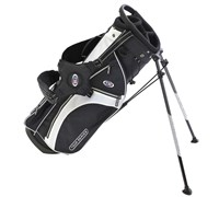US Kids Tour Series Stand Bag (Black/White)