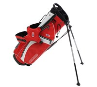 US Kids Tour Series Stand Bag (Red/White)