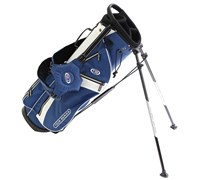 US Kids Tour Series Stand Bag (Blue/White)