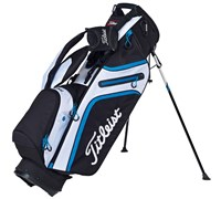 Titleist Ultra Lightweight Stand Bag (Black/White/Blue)