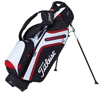 Titleist Ultra Lightweight Stand Bag (Black/White/Red)
