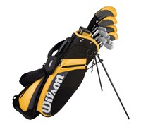 Wilson Ultra DCG Left Hand Golf Package Set  Steel/Graphite
