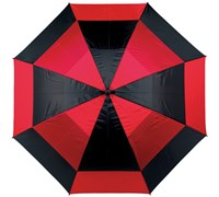 Masters Force9 62 inch Golf Umbrella (Black/Red)