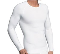 Equmen Core Precision Long Sleeve Undershirt (White)