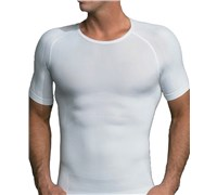 Equmen Core Precision Crew Neck Undershirt (White)