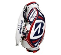 Bridgestone Limited Edition US Open Mini Staff Bag (White/Red/Blue)