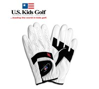US Kids Golf Junior Youth Good Grip Glove (White)