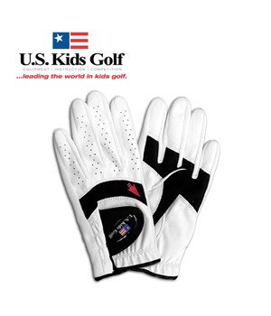 US Kids Golf Junior Youth Good Grip RH Glove (For Left Hand Junior)