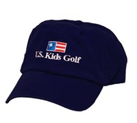 US Kids Golf Cap (Navy)