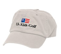 US Kids Golf Cap (Stone)