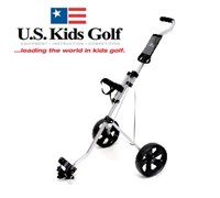 US Kids Golf Easy Walk Junior Pull Trolley