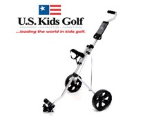 US Kids Golf Easy Walk Pull Trolley