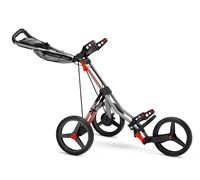 Sun Mountain SpeedCart V1 Sport Trolley 2014 (Gunmetal/Red)