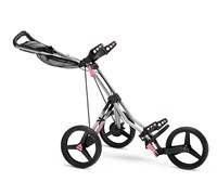 Sun Mountain SpeedCart V1 Sport Trolley 2014 (Silver/Pink)