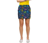 LOUDMOUTH Ladies Jolly Roger Golf Skort (Multi Coloured)