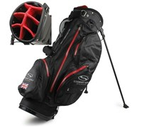 Stewart Golf W3 Waterproof Stand Bag (Black)
