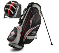 Stewart Golf W3 Waterproof Stand Bag (Black/Silver)