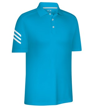 Adidas Mens ClimaCool 3-Stripe Polo Shirt