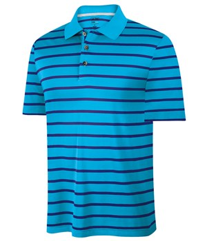 Adidas Mens ClimaCool Textured Stripe Polo 2012