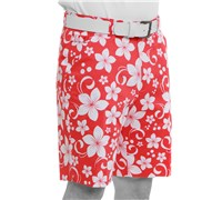 Royal And Awesome Wahine Magnet Golf Shorts (Red/White)