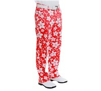 Royal And Awesome Wahine Magnet Golf Trouser (Red/White)