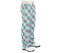 Royal And Awesome Well Plaid Golf Trouser (Blue)