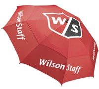 Wilson 68 Inch Double Canopy Tour Golf Umbrella (Red)