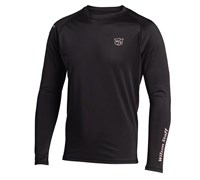 Wilson Staff Mens FG Tour Crew Neck Baselayer Top (Black)