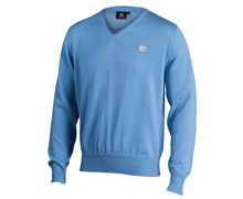 Wilson Staff Mens Authentic Sweater (Blue)