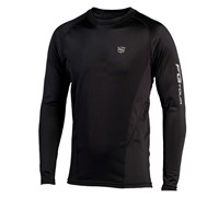 Wilson Staff FG Tour First Layer Long Sleeve Mock Baselayer (Black)