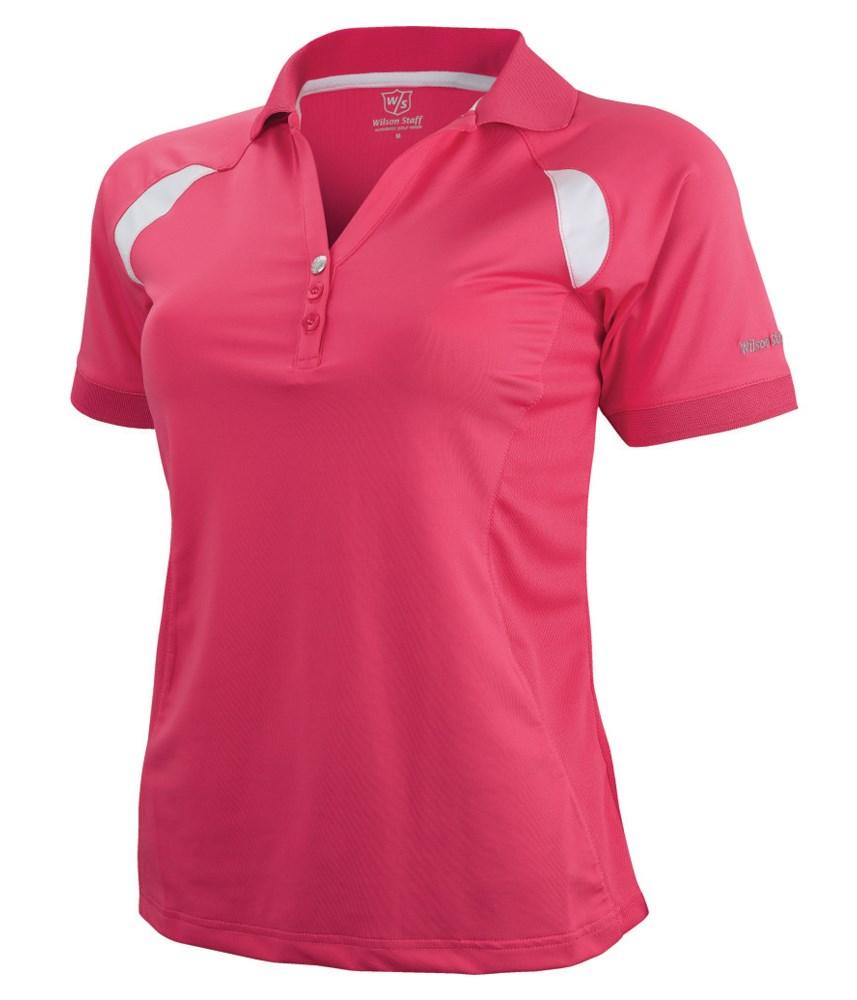 Wilson Staff Ladies Performance Golf Polo Shirt Golfonline
