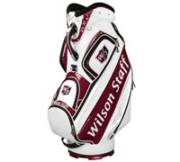 Wilson Staff Pro Tour 10 Inch Staff Bag 2014 (White)
