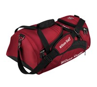 Wilson Staff Overnight Holdall Bag (Red)