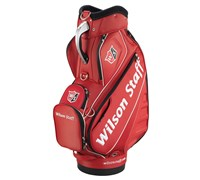 Wilson Staff Pro Tour Cart Bag 2015 (Red/White)