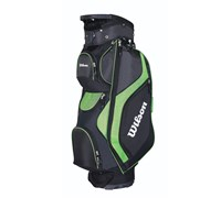 Wilson Staff ProStaff Cart Bag 2014 (Black/Green)