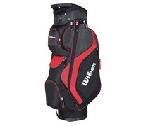 Wilson Staff ProStaff Cart Bag 2014 (Black/Red)