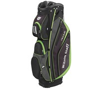 Wilson Staff Nexus Cart Bag 2015 (Black/Lime)