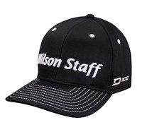 Wilson Staff D-100 Golf Cap (Black)