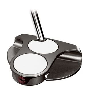 Odyssey White Ice 2-Ball Centre Shaft Putter 2012