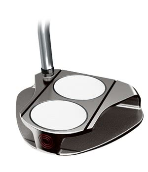 Odyssey White Ice 2-Ball V-Line Putter
