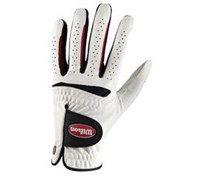 Wilson Feel Plus Golf Glove (White/Black)