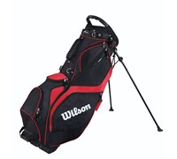 Wilson Staff ProStaff Stand Bag 2014 (Black/Red)