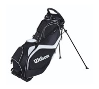 Wilson Staff ProStaff Stand Bag 2014 (Black/White)