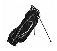 Wilson Staff QS Stand Bag 2014 (Black)