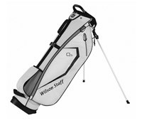 Wilson Staff QS Stand Bag 2014 (White)