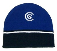 Cleveland Winter Golf Beanie (Black/Blue)